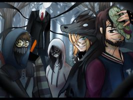 Slender team by AK-47x
