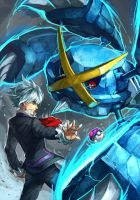 Pokemon : Steven and Mega Metagross