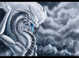 Frosty the Dragon... by h0wr