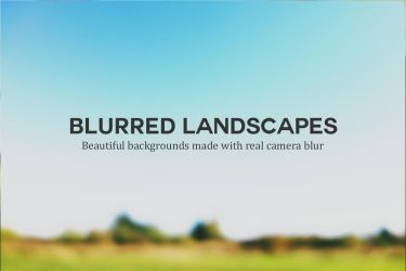 5 Beautiful Blurred Landscapes by pstutorialsws