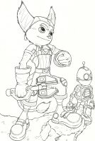 Ratchet and Clank Movie by Kassanovas