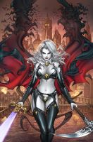 CC Lady Death ChaosRules #1, pencils: P. Pantalena by ulamosart