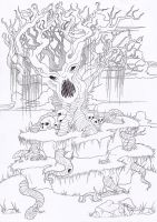 The Oak (Unfinished) by MonsterInTheFridge