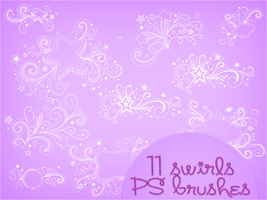 Swirls Brushes by notasinglesong2