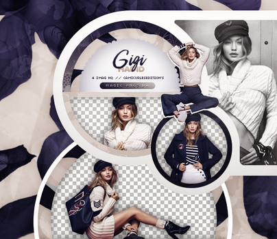 PACK PNG 774| GIGI HADID by MAGIC-PNGS
