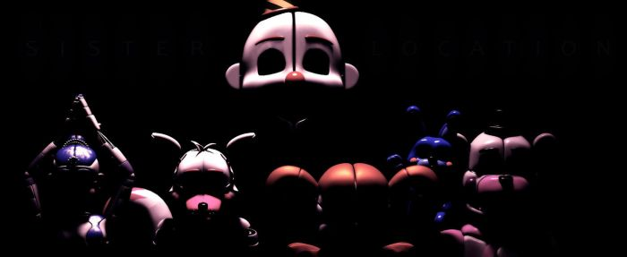 Sister Location Anniversary! (SFM FNAF) by TheSitciXD