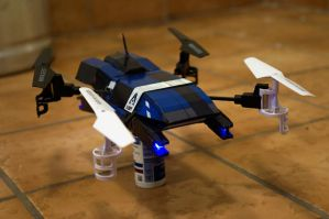 Mass Effect UT-47A Kodiak Drop Shuttle Quadcopter by ammnra