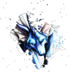 Vaporeon Thingy? by CorruptedGraphics