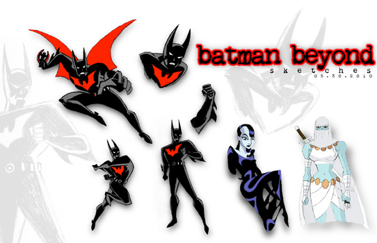 Batman Beyond sketches by olde-fashioned