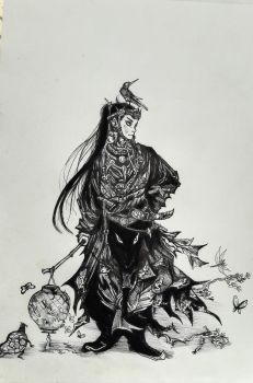 The Forest Samurai by Khov97