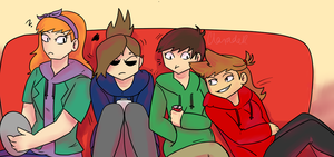 Eddsworld/Ellsworld - Taking Up Space by Grimmijaggers