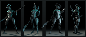 Some nyx practice poses by Aerial1