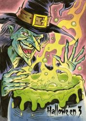 Hallowe'en 3 Sketch Card - Jason Crosby 3 by Pernastudios