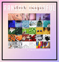 random colorful images pack by wildfireresources by wildfireresources