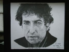 Bob Dylan - done in 2hrs, by WJLACEY