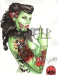 PIN UP ZOMBIE