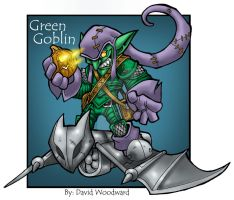 Green Goblin by badgerlordstudios