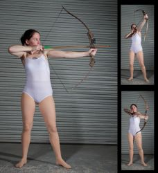 Female Archer - Pose Reference by SenshiStock