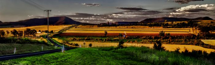 Country road by GeoffSporne