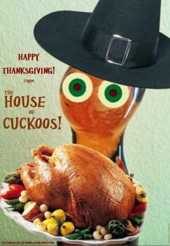 THoC Turkey Day Cat 2014 by House-of-Cuckoos