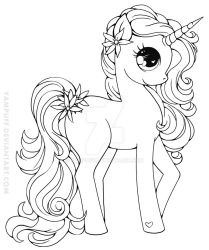 Zizzle Zazzle Lineart by YamPuff
