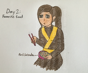 4/18 OC Challenge: Ninjago OC - Day 2 by Tomboyhns