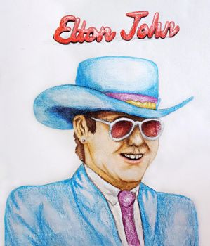 Elton John (Candy Man) by RetroReginald