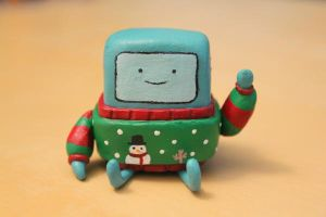 A Holly Jolly BMO by lonelysouthpaw