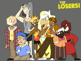 The Losers! But They're Humans As Well by Art-Tart-Taffyness