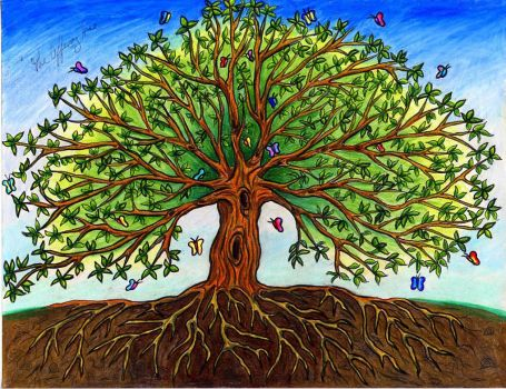 The Offering Tree by wiccan-club