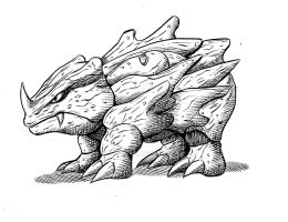 Pokemon #111 Rhyhorn
