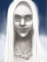 The pale woman by ThereseOfTheNorth