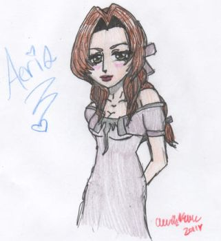 Beautiful Aeris by cleris4ever