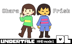 [MMD]Undertale Frisk and Chara DL by Yukanuntiusel