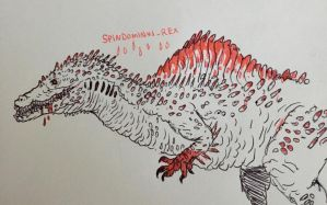 spindominus rex leaked concept art!!! really!! by Apgigan