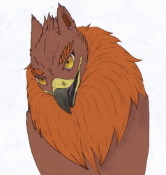 Fluffy Gryph by CauseTears