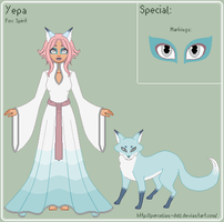 ToS - Yepa Reference Sheet by theRainbowOverlord