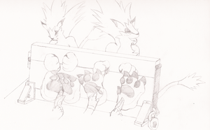 Moomba Punishment Session by ChaosGreiga