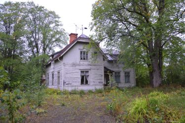 At The Abandoned Forest Mansion by mjrn70