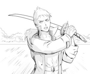 Quentin MacLeod of the Clan MacLeod by Los-Chainbird