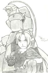 elric brothers by edjarit-117