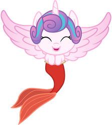 Flurry Heart as Melody by CloudyGlow