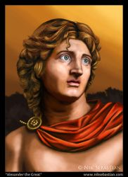 Alexander the Great by NikSebastian