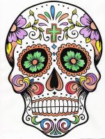 Sugar Skull by WiccaSmurf