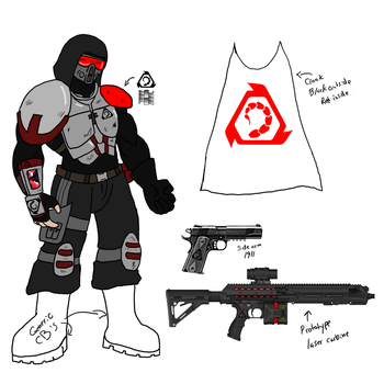 Nod Enforcer cosplay concept by Doom-Tanker
