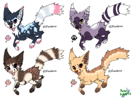 Canine Adopts :CLOSED: by kiwis-Adopts4Sale
