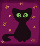 Witch Kitty (gif) by BroGirl62
