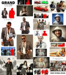 Grand Theft Photoshop Action by GraphicAssets