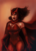 The Scarlet Witch by duskflare