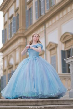 You shall go to the ball - Ella (Cinderella 2015) by zeropuntosedici